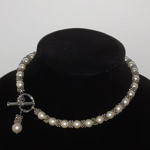 NECKLACE PEARL CHOKER